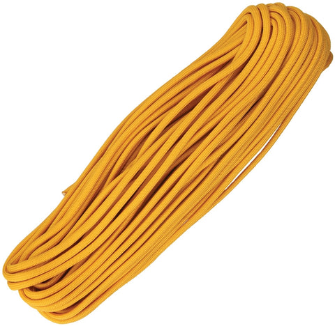 Atwood 550 Parachute Cord Air Force Gold 100Ft