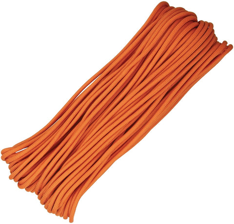 Atwood 550 Parachute Cord Burnt Orange 100Ft