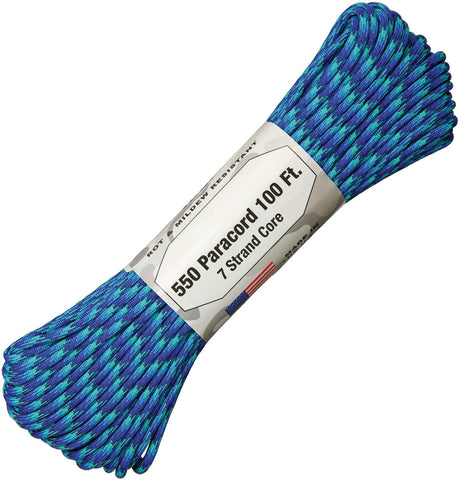 Atwood 550 Parachute Cord Neptune 100Ft