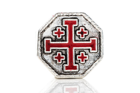 Spartan Blades Bead - Crusader Cross