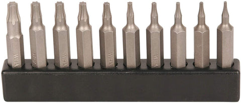 Wiha 75988 | 10 Piece Torx MicroBits Set