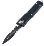 Microtech Combat Troodon D/E Partial Serrated 142-2