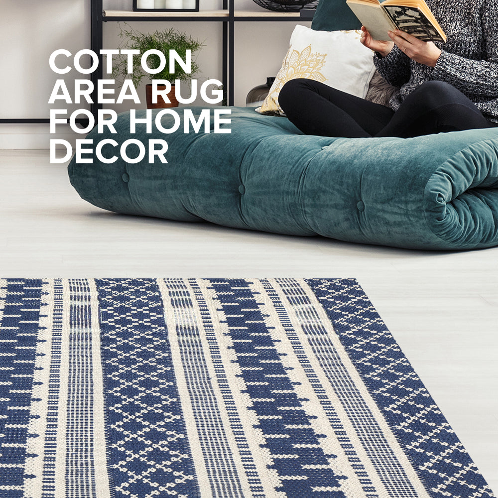 Decorate Your Home with Cotton Area Rug