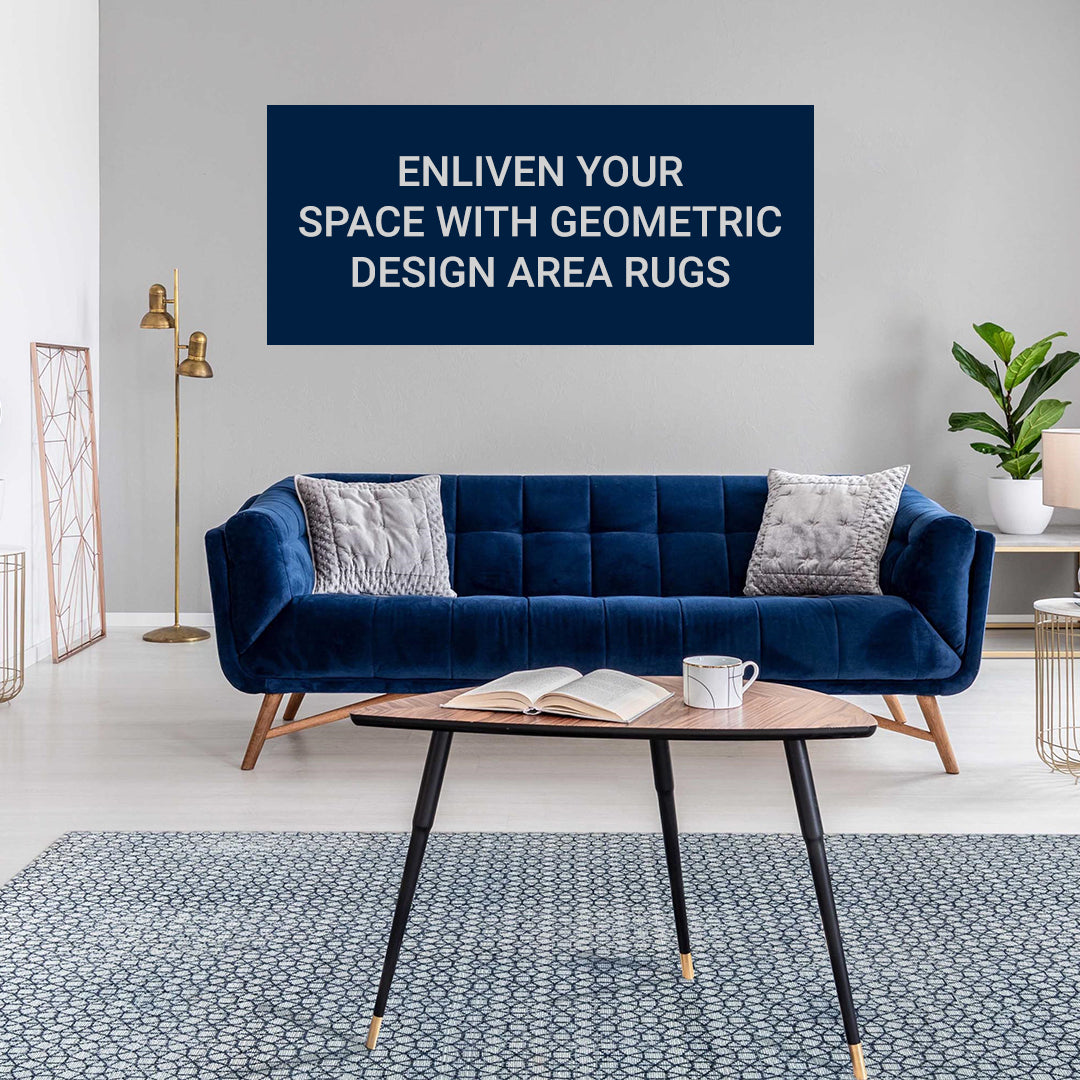 How Geometric Area Rugs Revamp The Home Look?