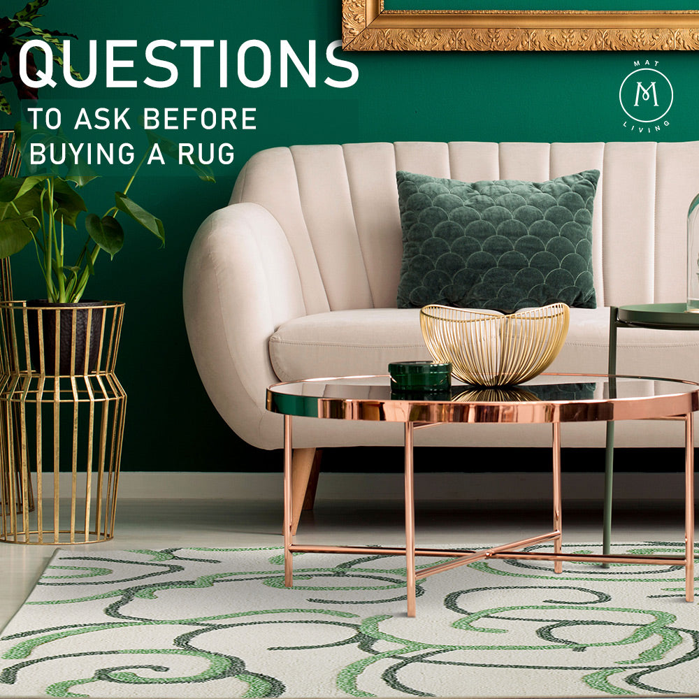 Questions You Must Have Before Buying An Area Rug