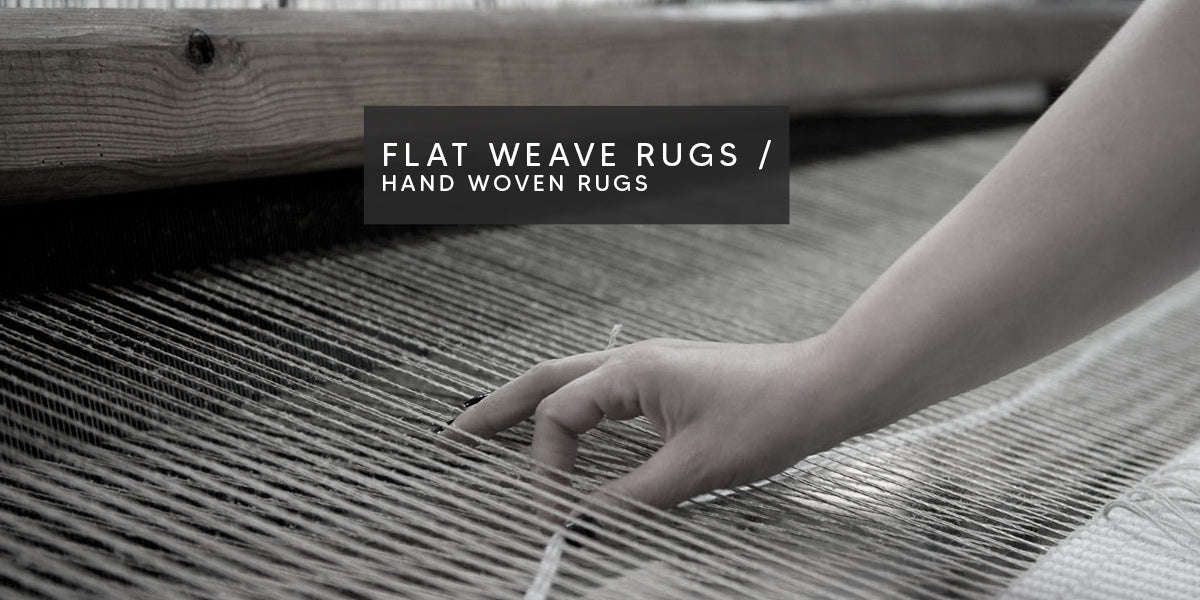 Flat Weave Rugs / Hand Woven Rugs , Types of Rug Weaving Techniques – MAT Living USA, flat rugs, hand-woven rugs, Flat-woven rugs