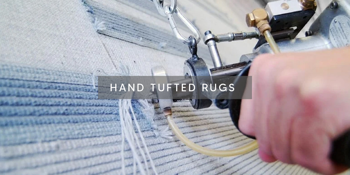 Hand Tufted Rugs, Types of Rug Weaving Techniques – MAT Living USA, hand-knotted area rug, hand-tufted floor