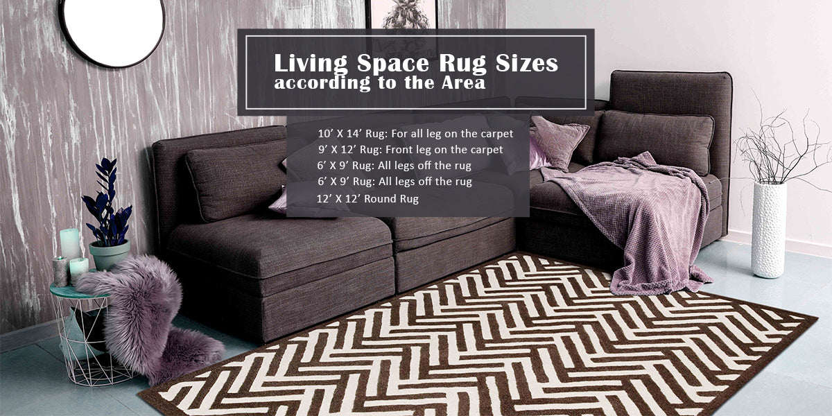 Rug Sizes For Living Space According to the Area?