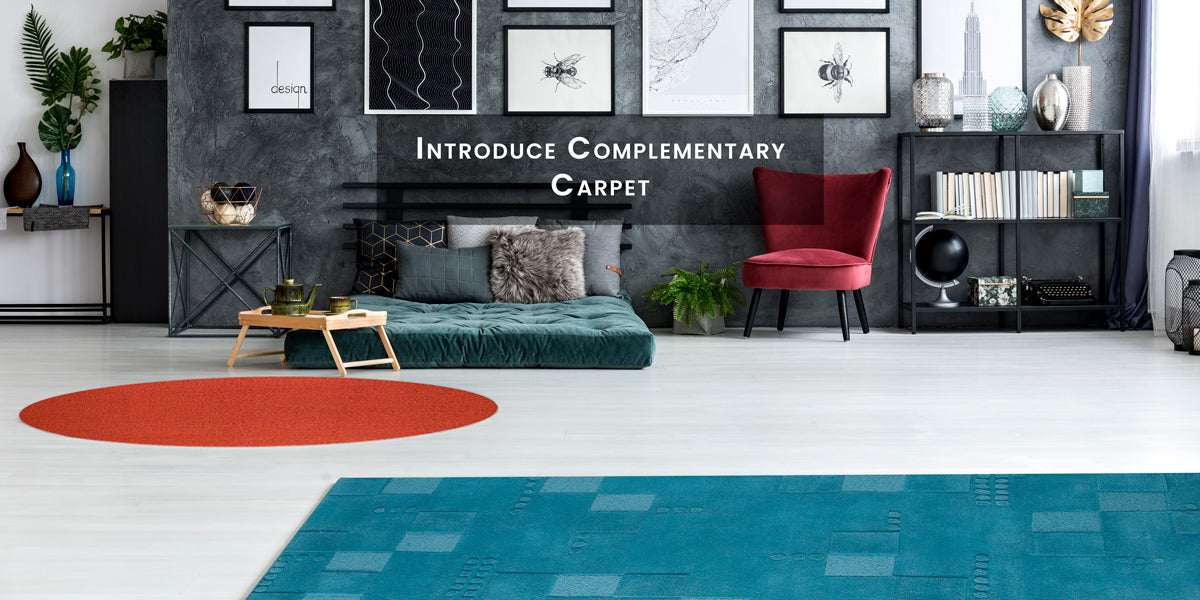 Introduce complementary carpet, How To Skillfully Combined Multiple Area Rugs In A Beautiful Way