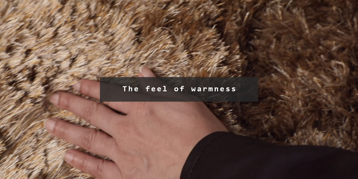 The feel of warmness