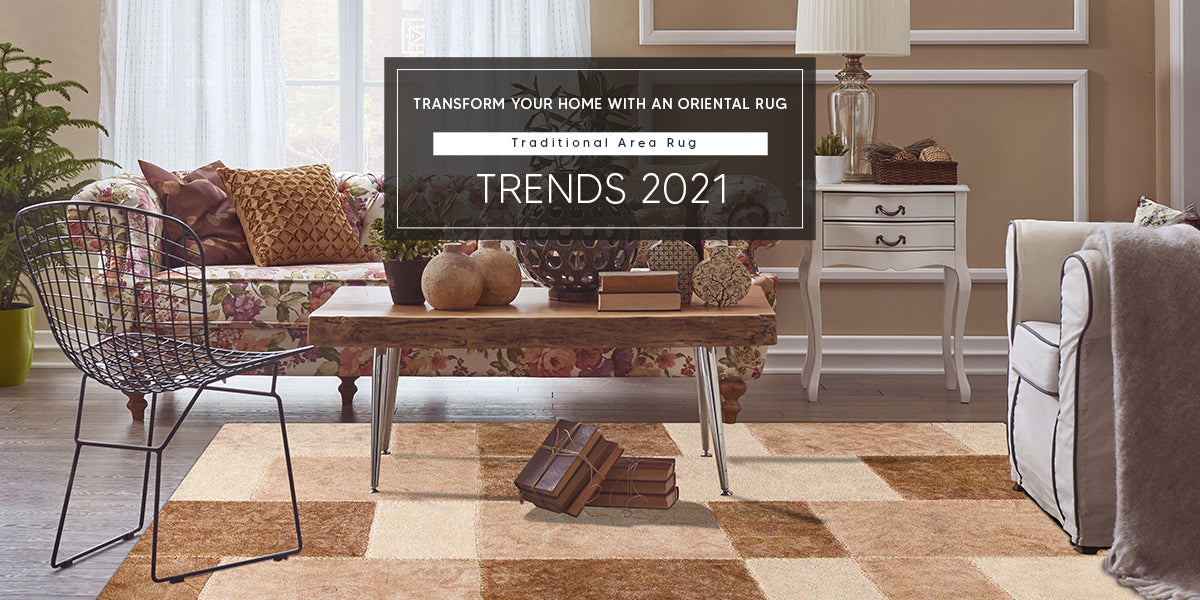 Make A Bold Statement - Contemporary Area Rugs Trends 2021