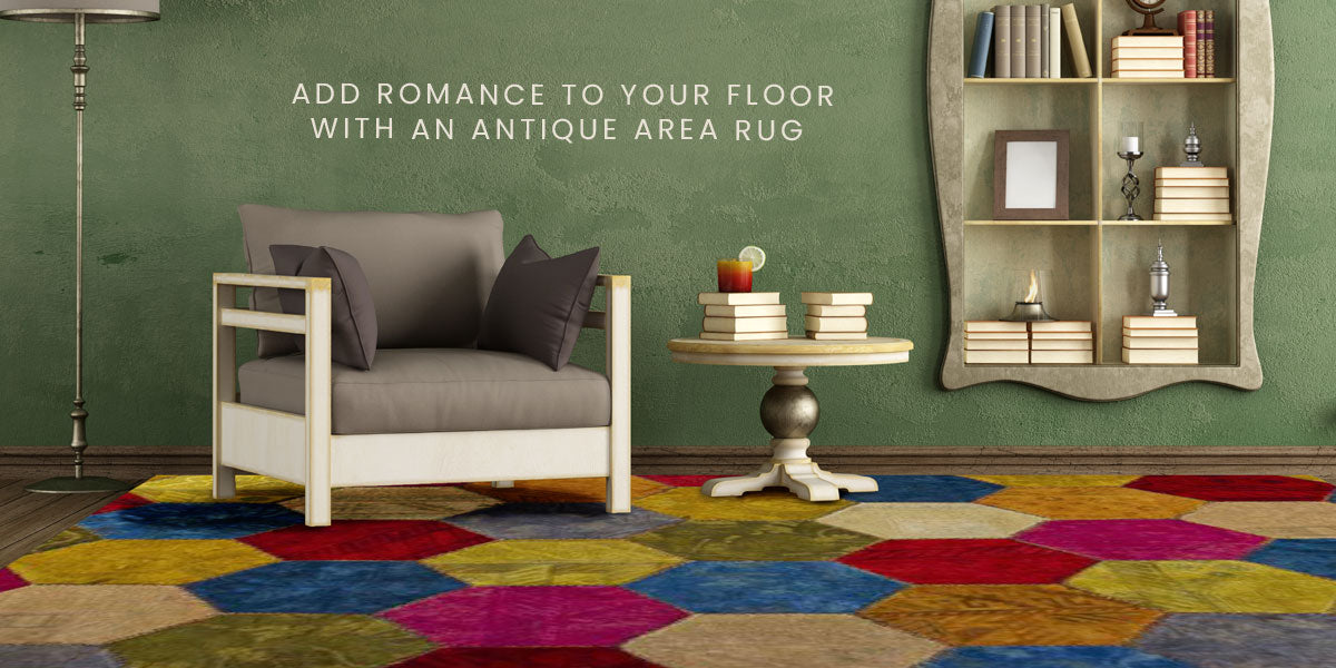 Add Romance to Your Floor with an Antique Area Rug