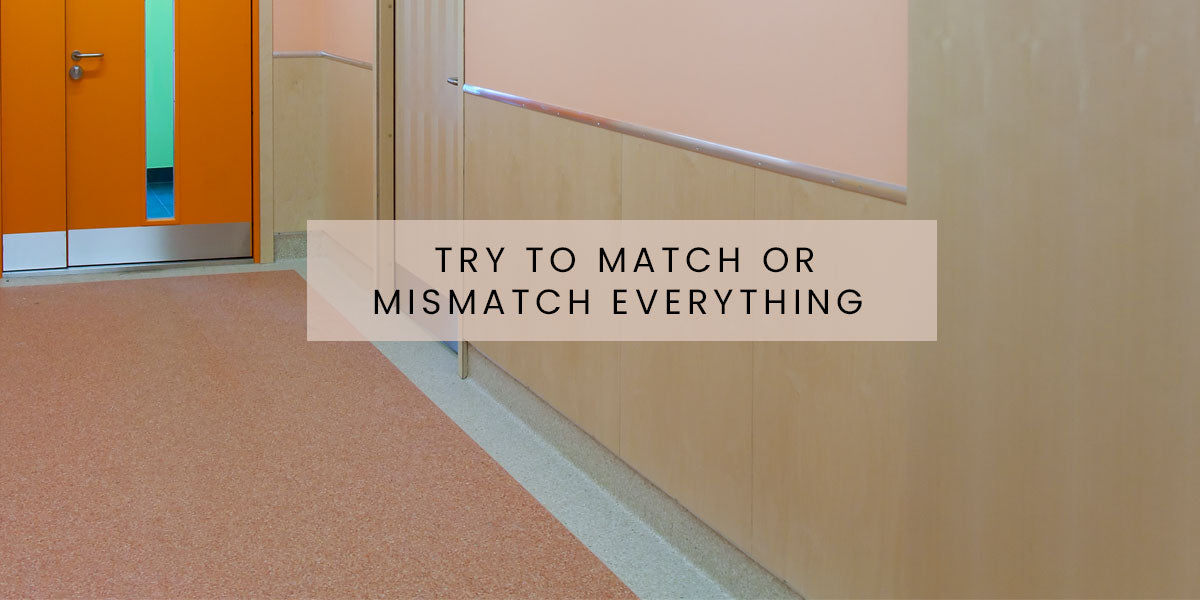 Try to match or mismatch everything