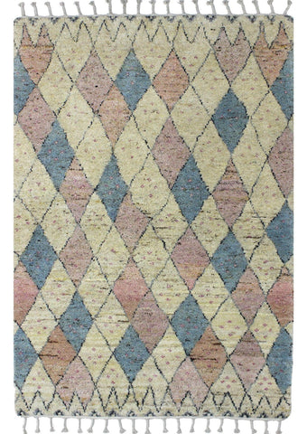 MAT Moroc Tribal Area Rug Soft/Multi