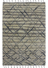 MAT Moroc Atlas Area Rug Natural/Grey