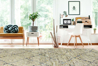 MAT Moroc Quarian Area Rug Natural/Multi