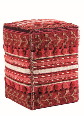 MAT Pouf Abramo Red
