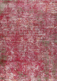 MAT Shah Akron Area Rug Red
