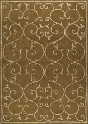 MAT Annapurna Area Rug  Olive/Green Sale