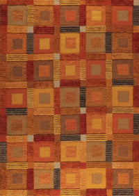 MAT Surface Big Box Area Rug Orange