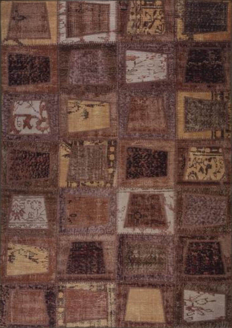 MAT Vintage Bursa Area Rug Brown Sale
