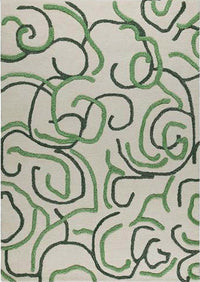 MAT Busy Area Rug Green Sale