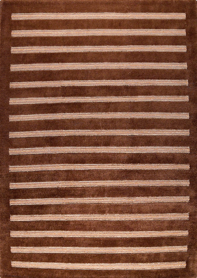 MAT Chicago Area Rug Brown