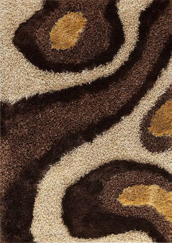 MAT Roca Dunes Area Rug White/Brown