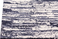 Contemporary Abstract Nile Fargo Charcoal/Grey Wool Area Rug Carpet