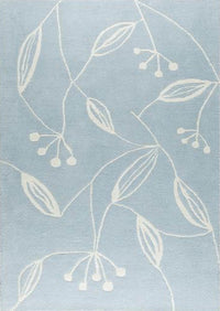 Mat Flora Area Rug Blue Sale