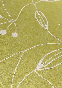 Flora Area Rug Green Sale, USA – floor mats living room