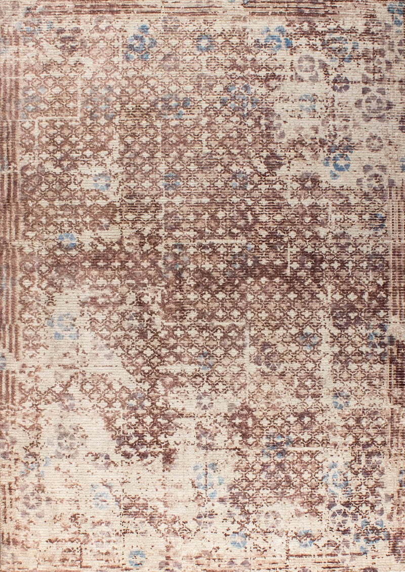 MAT Shah Gela Area Rug Beige/Turquoise/Gray
