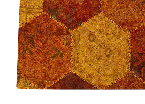 Mat Honey Comb Area Rug Orange Sale
