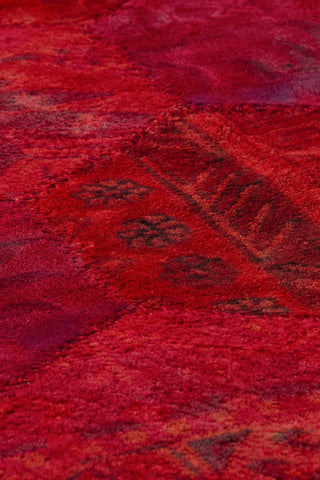 Mat Honey Comb Area Rug Red Sale