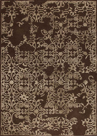 MAT Illusion Area Rug Brown Sale