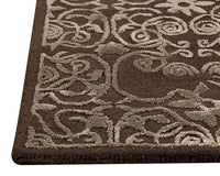 Illusion Area Rug Brown Sale, USA – MAT Living - carpets for living room