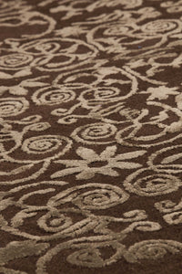Illusion Area Rug Brown Sale, USA – floor mats living room