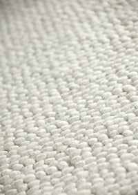 MAT Feel Ladhak Area Rug White