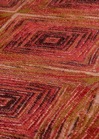 MAT Nile Lansing Area Rug Red/Multi