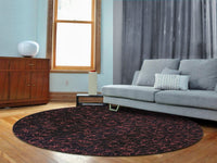 MAT Madeira Area Rug  Black/Red Sale