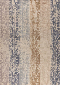 Contemporary Abstract Nile Madison Beige Wool Area Rug Carpet