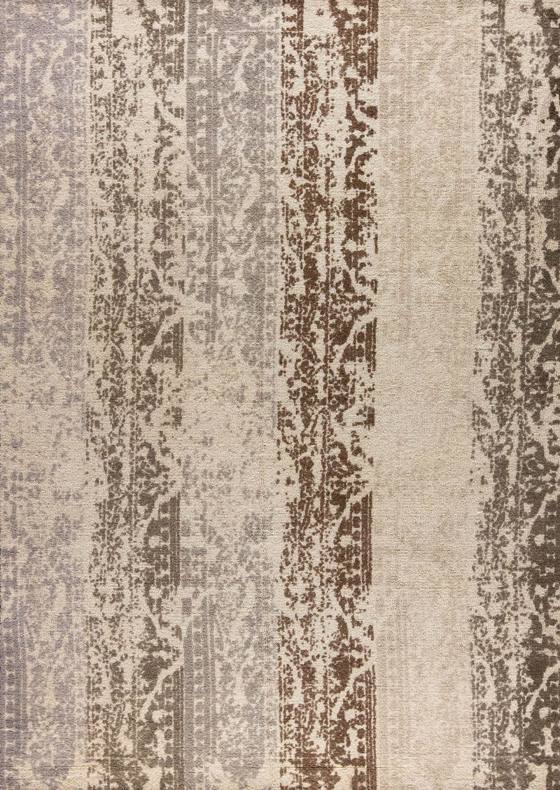 MAT Nile Madison Area Rug Silver/Beige