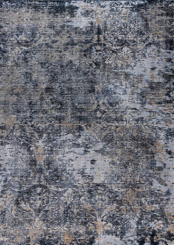 MAT Shah Mehran Area Rug Dark Grey