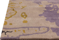 MAT Milano Mistral Area Rug Grey Gold