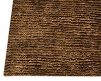 Feel Nature Area Rug Dark Brown, USA – MAT Living - carpets for living room