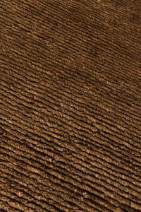 MAT Feel Nature Area Rug Dark Brown/Dark Brown