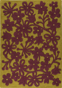 MAT Newport Area Rug Green/Plum Sale