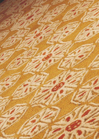 MAT Milano Normandie Area Rug Gold