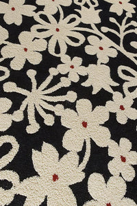 MAT Newport Area Rug  Charcoal/White Sale