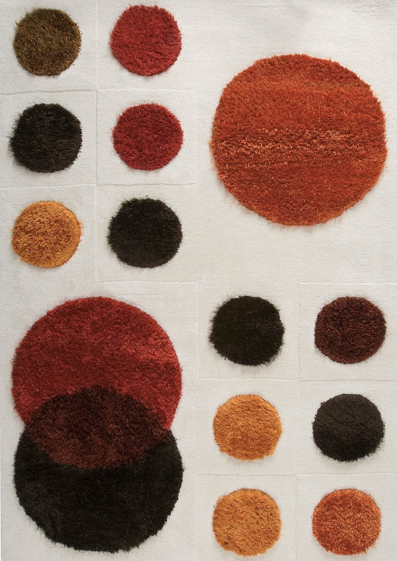 MAT Planet Area Rug Red/Orange/Brown Sale